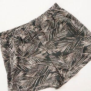 Modern Palm Printed Shorts